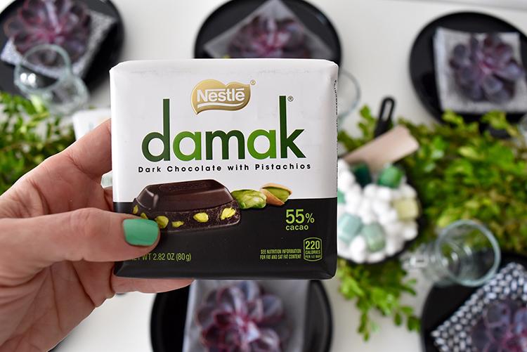 خرید اینترنتی شکلات داماک پسته ای نستله ترکیه